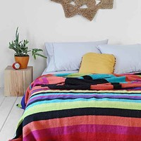 Magical Thinking Lone Wolf Bed Blanket- Multi One