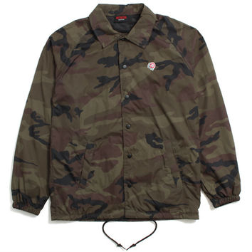 Only The Strong Coach's Jacket Camo