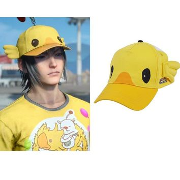 Final Fantasy XV Noctis Lucis Caelum Cosplay Carnival Cap FF15 Moogle Chocobo Hat Halloween Costume Accessories