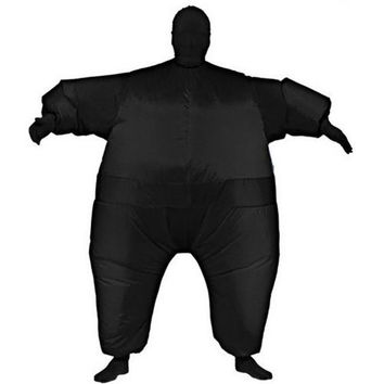 Costume Morphsuit: Inflatable Skin Suit - Black