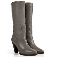 Chloé - Leather Cabra Boots