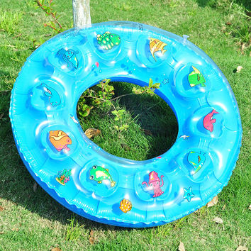 Children's swimming pool life circle men and women crystal swimming ring [11516225999]