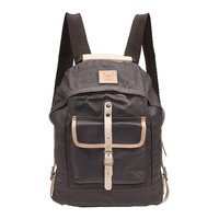 Wax Coated Canvas Dome Backpack