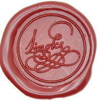 Personalized Fancy Calligraphy Wax Seal Stamp