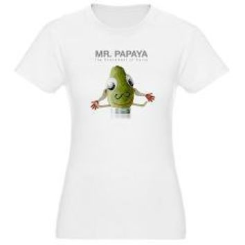 Mr. Papaya Jr. Jersey T-Shirt > Mr. Papaya > The Fringe Podcast Gear