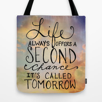 Second Chance Tote Bag by Misty Diller of Misty Michelle Design