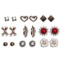 Boho Bling Earring Set | Wet Seal
