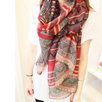 Fashion Trendy Bohemian Women's Long Scarf Wrap