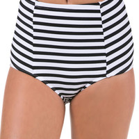 High Waisted Swim Suit Bottoms