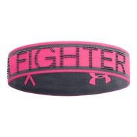 Under Armour Women's Pip Reversible Headband, One Size, Cerise