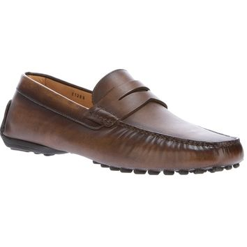 Santoni Leather Loafer