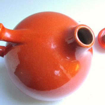 1930s Rumrill Ball Pitcher Number 50 Orange