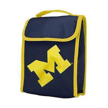 Michigan Wolverines Official NCAA Insulated Lunch Box Lunchbox Bag by Foreve ...