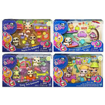 Littlest Pet Shop Themed Play Packs Wave 4