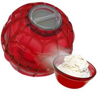 The Ice Cream Ball Play and Freeze Ice Cream Maker - Red