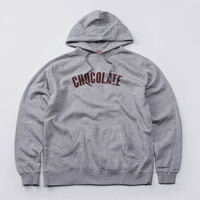 Flatspot - Chocolate League Hooded Sweatshirt Ash Grey