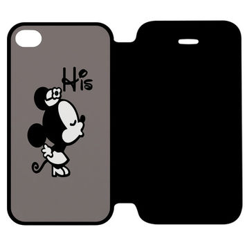 Minnie Mouse His iPhone 4 | 4S Flip Case Cover