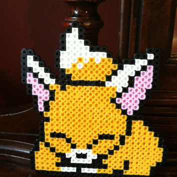 Cute Fox Perler Bead