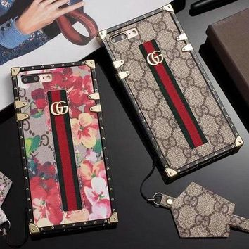 GUCCI 2018 Hot ! iPhone X iPhone 8 Plus - Stylish Cute On Sale Hot Deal Matte Couple Phone Case For iphone 6 6s 6plus 6s plus iPhone 7 iPhone 7 plus