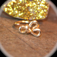 Infinity Heart Nose Ring, Nose Hoop, Hoop Earring, Cartilage Hoop, Endless Hoop, Seamless Hoop, Piercing Jewelry, Hoop