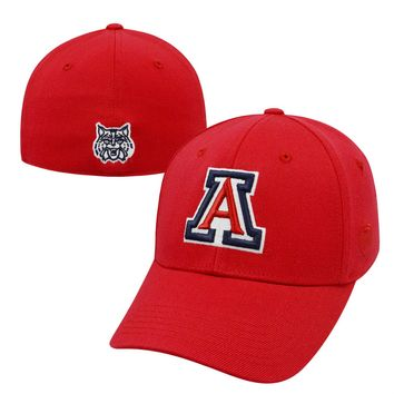 Licensed Official NCAA One Fit Premium Cuff Hat Cap by Top of the World KO_19_1