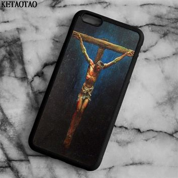 KETAOTAO JESUS CHRIST CHRISTIAN CROSS BIBLE Printed Phone Cases for iPhone 5S 6S 7 8 X for Samsung Case Soft TPU Rubber Silicone