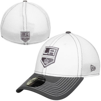 Los Angeles Kings New Era Two-Tone Neo 39THIRTY Flex Hat – White/Gray