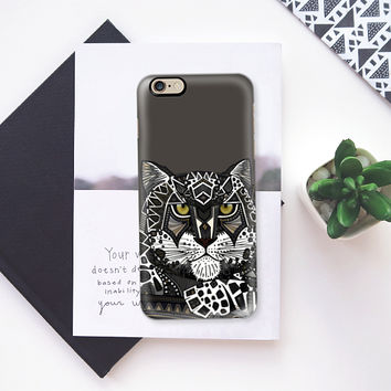 snow leopard lead iPhone 6s case by Sharon Turner | Casetify
