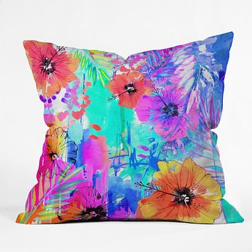 Holly Sharpe Hawaiian Heat Throw Pillow