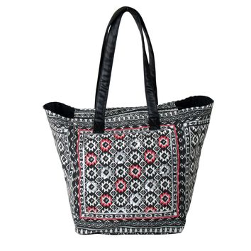 Weekender LARGE TOTE Bag with Long Shoulder Straps
