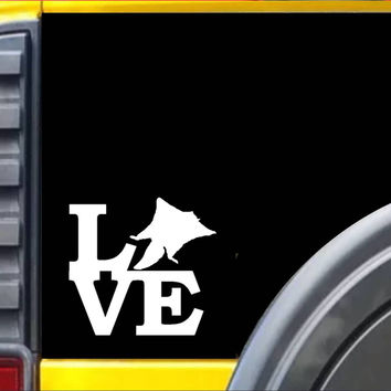 Sugar Glider Love Decal Sticker *h952*