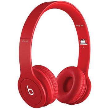 Beats Solo Red Hdphns