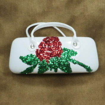 Glasses Case - Sunglass Case - Teen Girl Gift - Stocking Stuffers - Bridal Party gifts - Gifts Under 25 - Gifts For Mom