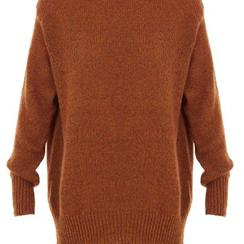 Tibi Mohair Tunic Sweater