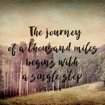 Motivational Quote The Journey