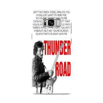 Bruce Springsteen Born To Run Quote Samsung Galaxy S8 | Galaxy S8 Plus case