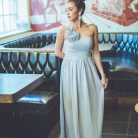 WEB EXCLUSIVE: Always Charming Maxi Dress in Grey