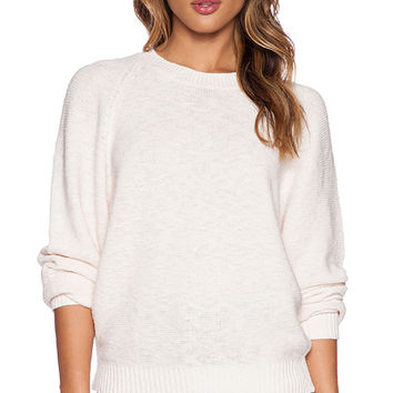 Line Campbell Sweater in Peach