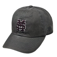 Mississippi State Bulldogs Official NCAA Adult One Size Adjustable Cotton Crew Hat Cap by Top of the World 614599