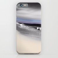 Lovely Twilight Seascape 2 iPhone & iPod Case by Jen Warmuth Art And Design
