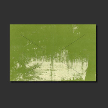 Anthotype Green Canvas Wall Art Print. Green View Anthotype Wall Decor Piece for your Prints Ideas.