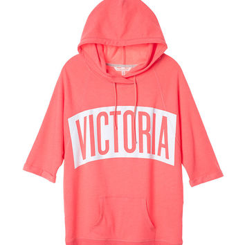 Short-sleeve Hooded Tunic - Fleece - Victoria's Secret