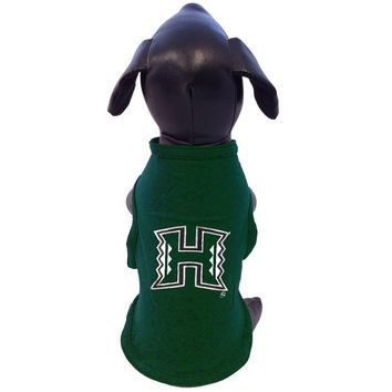 NCAA Hawaii Rainbow Warriors Cotton Lycra Dog Tank Top, X-Large