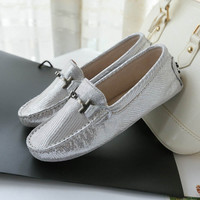 Genuine Leather Loafer for Women