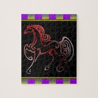 Horse Tails Jigsaw Puzzle