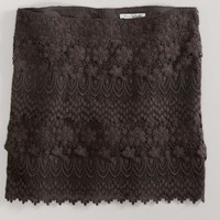 AEO 's Tiered Lace Mini Skirt