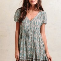 Cape Cottage Floral Dress
