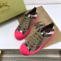 Burberry Fashion Espadrilles Flats Shoes