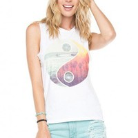 Brandy ♥ Melville |  Raisa YinYang Tank - Graphics