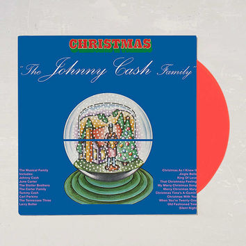 Johnny Cash - Christmas With Johnny Cash LP - Urban Outfitters